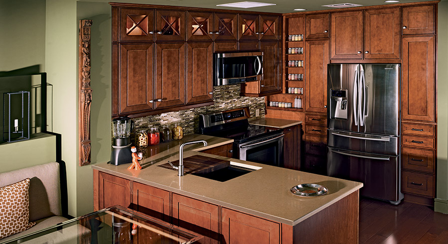 Small Kitchen Ideas : 7 Tips To Make Small Kitchens Feel ...