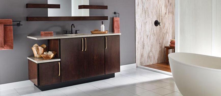 Bathroom Layouts Kraftmaid Cabinetry