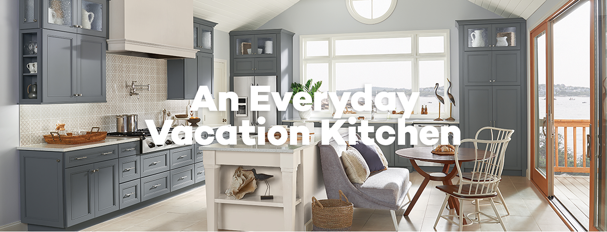An Everyday Vacation Kitchen