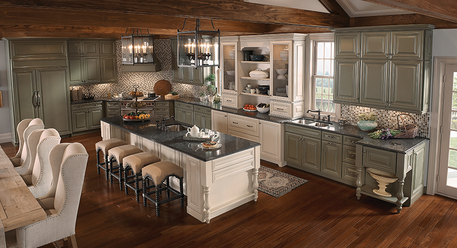 5 Most Por Kitchen Layouts Kraftmaid