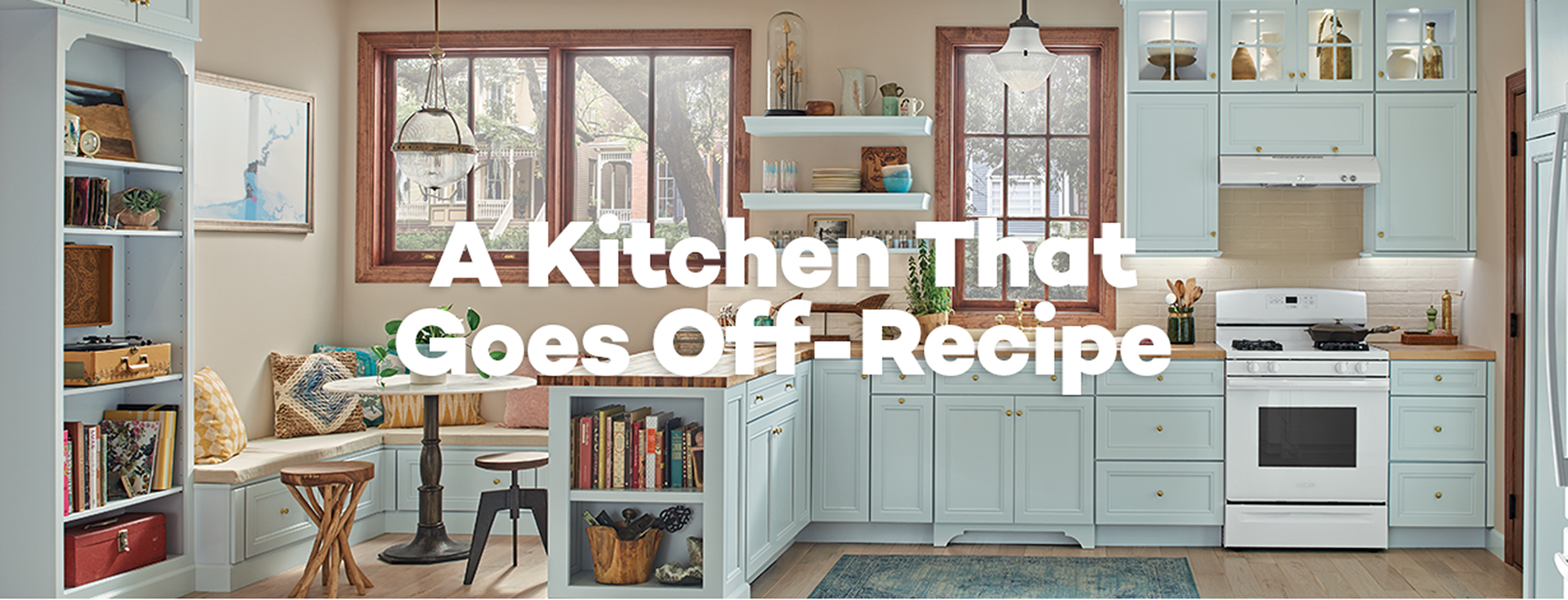 A kitchen That Goes 0ff-Recipe